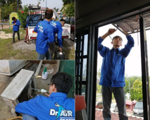 doktor air aircon service technician team